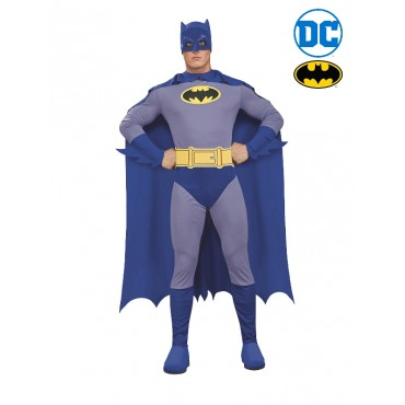 Costume Adult Batman Grey L