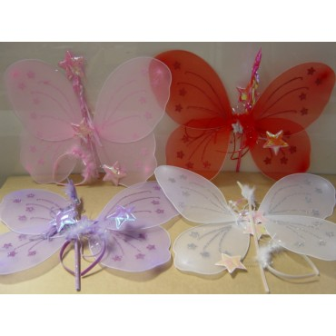 Wings Fairy Purple with...