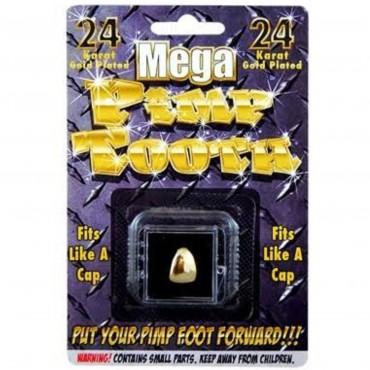 Tooth Cap Gold Pirate Pimp