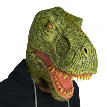 Mask Dinosaur Green