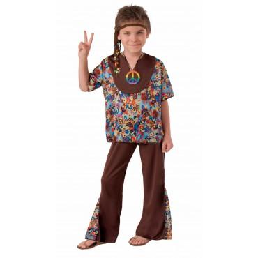 Costume Child Hippie Boy L