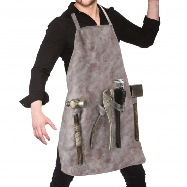 Apron Brown with Tools