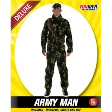 Costume Adult Army Soldier