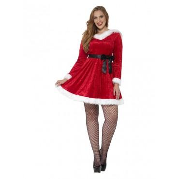 Costume Adult Miss Santa...