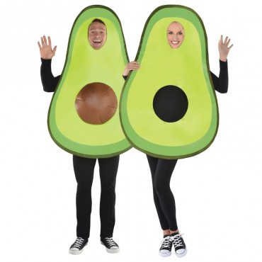 Costume Adult Avocado 2pcs