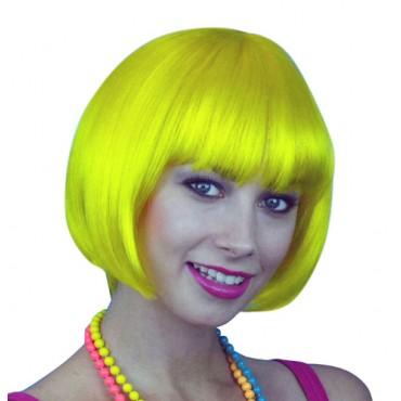 Wig Bob Short Yellow Premium