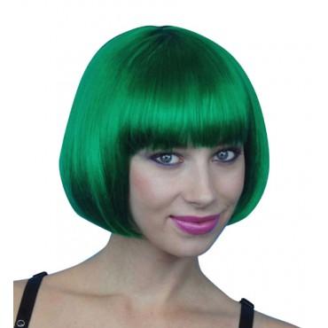 Wig Bob Short Emerald Green...