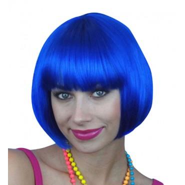 Wig Bob Short Royal Blue...
