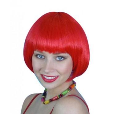 Wig Bob Short Red Premium