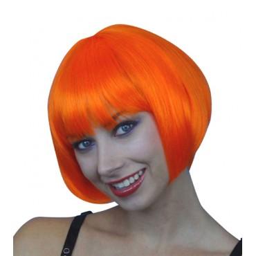 Wig Bob Short Orange Premium