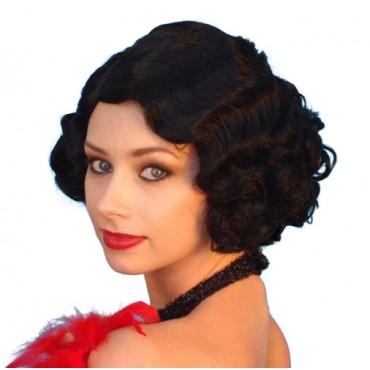 Wig Cabaret Black Premium