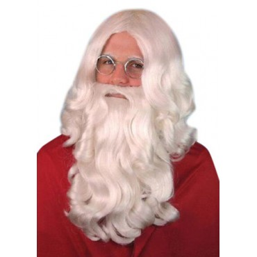 Wig & Beard Santa Clause...
