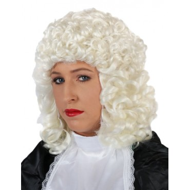 Wig Barrister Judge White
