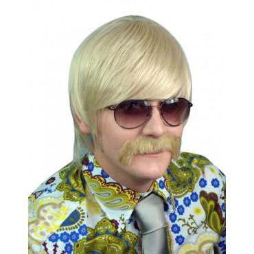 Wig 70's Mod Guy Blonde...