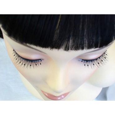 Eyelashes Black with Black...