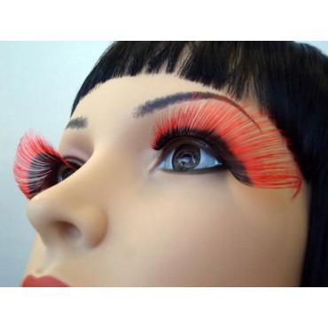 Eyelashes Dramatic Black Red