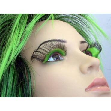 Eyelashes Dramatic Green Black