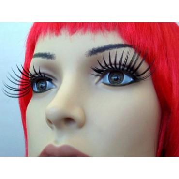 Eyelashes Spidery Long Black