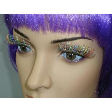 Eyelashes Rainbow Holographic