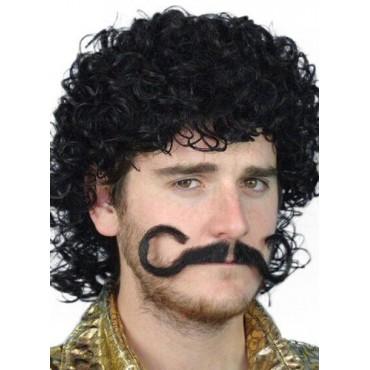 Moustache Macho Black