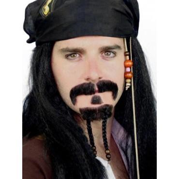 Moustache Pirate Mo & Beard...