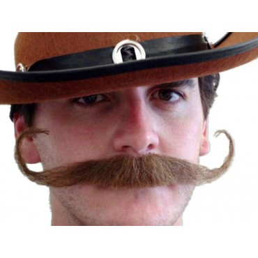 Moustache Outlaw Brown