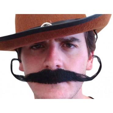 Moustache Outlaw Black
