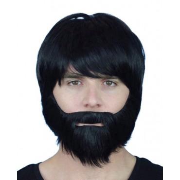 Beard Black Synthetic