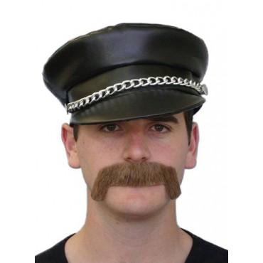 Moustache Merv Brown