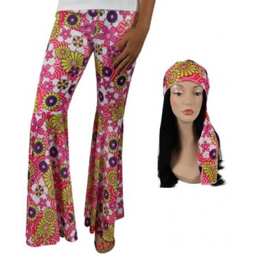 Costume Adult Hippie Pants...
