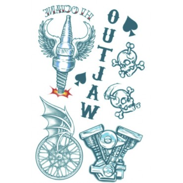 Tattoo Biker Outlaws