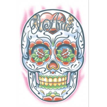 Tattoo Day Of The Dead El Amor