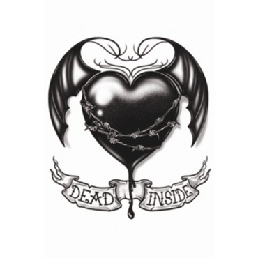 Tattoo Dead Inside Gothic