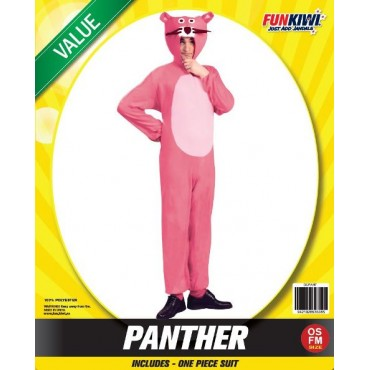 Costume Adult Pink Panther Cat