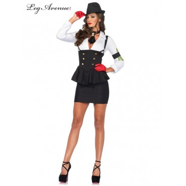 Costume Adult Gangster Molly L