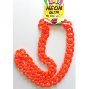 Chain Chunky Neon Orange
