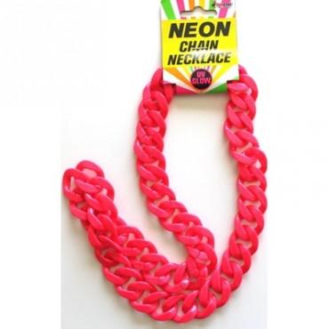 Chain Chunky Neon Pink