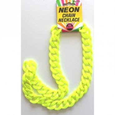 Chain Chunky Neon Yellow