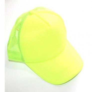 Hat Cap Neon Yellow