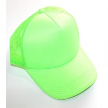 Hat Cap Neon Green