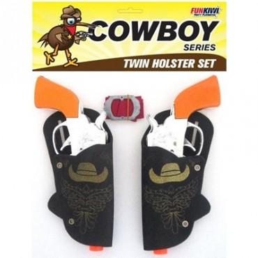 Gun and Holster Belt Twin...