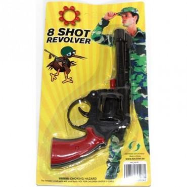 Cap Gun Pistol Revolver Red...