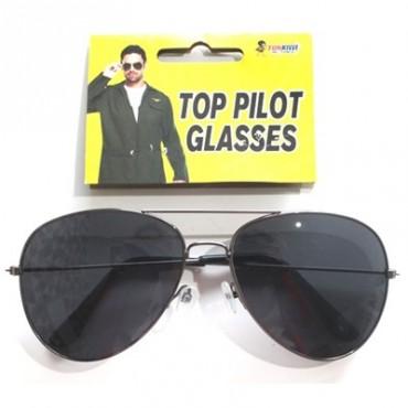 Sunglasses Aviator Black Frame