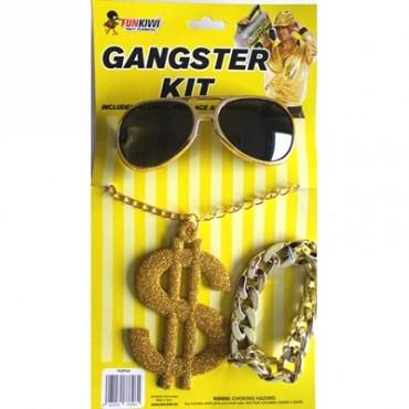 Dress Up Kit Gangster Gold...