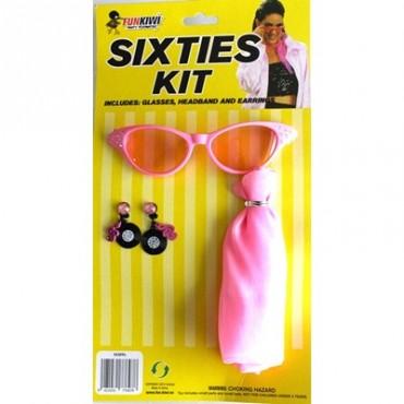 Dress Up Kit 60's Glasses...