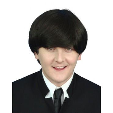 Wig Beatles Dark Brown Premium