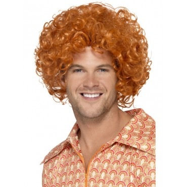Wig Afro Ginger
