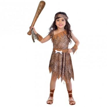 Costume Child Cavegirl 6-8