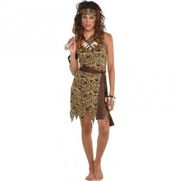 Costume Adult Cavewoman 10-12