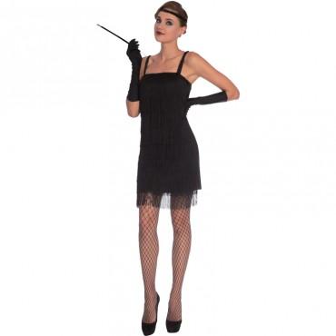Costume Adult Flapper Black...